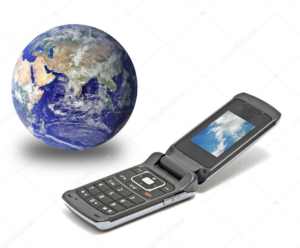 Close up of mobile telephone — Stock Photo #9626522