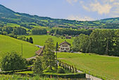 Alp village — Stock Photo