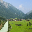River at Alps — Stock Photo