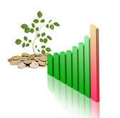 развитие зеленой экономики — Стоковое фото