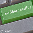 Hot key for short selling — Stock Photo #9689689