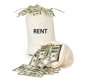 Bags with rent — Stock Photo