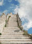 Schody do sukcesu — Zdjęcie stockowe