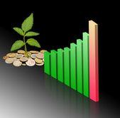 Development of green economy — Stock Photo