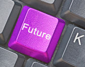 Key for future — Stock Photo