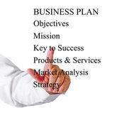 Presentazione del business plan — Foto Stock