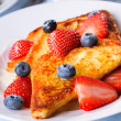 French toasts — Stock Photo