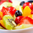 Salad with fruits and berries — Stock Photo