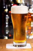 Copa de cerveza — Foto de Stock