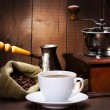 Cup of black coffee — Stock Photo #10542846
