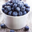 Fresh blueberries — Stockfoto