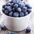 Fresh blueberries — Stock fotografie