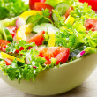 Salad with vegetables — Stock Photo #10704709