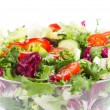 Salad with greens and vegetables - Foto Stock