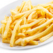 Fries potatoes - Stock Photo