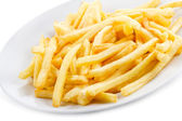Fries potatoes — Stockfoto