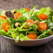Постер, плакат: Salad with vegetables and greens