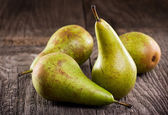 Yeşil armut — Stok fotoğraf