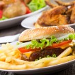 Hamburger — Stock Photo #9045046