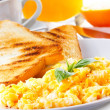 Scrambled eggs — Stock Photo #9577260