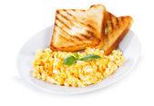 Scrambled eggs — Stock Photo