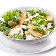 Caesar salad with chicken and greens — Stock Photo #9693195