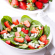 Salad with strawberry — Stock Photo #9864965