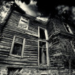 Stock Photo: Black house