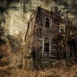 Stock Photo: Spooky house