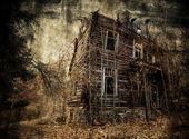Casa espeluznante — Foto de Stock