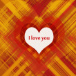 Stockfoto: Love card design
