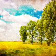 Stock Photo: Vintage landscape