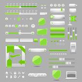 Web elements design,vector — Stock Vector