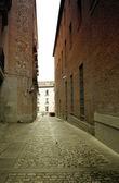 Madrid narrow alley — ストック写真