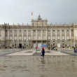 Royal palace in Madrid — Stock Photo