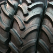 Stock Photo: Tractor tires