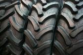 Neumáticos del tractor — Foto de Stock