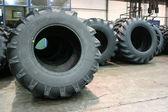 Tractor tires — Stock Photo