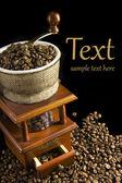Mechanical coffee grinder — Stock Photo