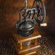 Mechanical coffee grinder — Stock Photo #8556307