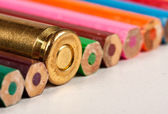Bir gun kurşun kalem ile birlikte — Stok fotoğraf