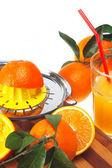 新鮮なオレンジ ジュース — ストック写真