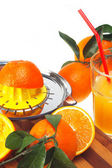 Fresh orange juice — 图库照片