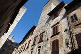 San Gimignano towers, Tuscany, Italy — Stock Photo