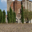 Abbey of San Galgano, Tuscany, Italy — Foto de Stock