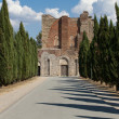 Alley near the Abbey of San Galgano - Photo