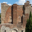 Facade of Abbey of SGalgano, Tuscany, — стоковое фото #10253920
