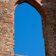 The Abbey of San Galgano, Tuscany, - Stock Photo