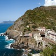 Beautiful coastline in Cinque Terre, Liguria, Italy — Stock Photo
