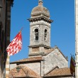 Royalty-Free Stock Photo: Church La Collegiata di San Quirico D&#039;Orcia,Tuscany
